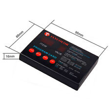 Speed Controller ESC Pragram Card for Flymonster ESC RC Model Ship Aircraft Boat