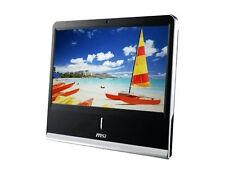 "MSI MS-A912 All-in-One 18.5"" PC - Intel Atom 1.66Ghz - 1GB Ram - Webcam"