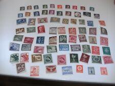 Deutsches Reich 70 verschiedene Briefmarken alles postfrisch ex 1940 - 1945