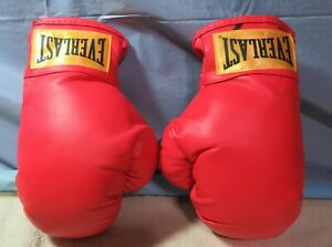 Everlast Size Small Medium Youth Red Boxing Gloves Bar Man Cave Decor Art