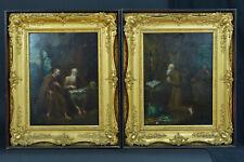 RareTableau ancien Portrait Religieux Flamand Pieter Snyers Saint Antoine Paul