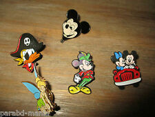 Lot ancienne série pin s-Disney-Donald,Mickey,fée Clochette...-Email grand feu