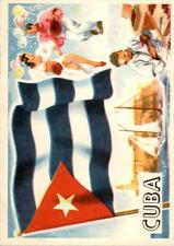 1956 A & BC Flags of the World Mini 50 Cuba NM #D376396