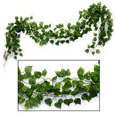 Safari Jungle Party Supplies Cafe Decor Plastic Vine Leaf Decorations Pack of 4