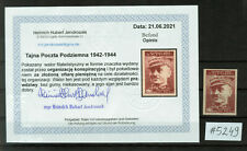More details for  poland - polish postal underground service imperforated #5249
