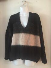 L.A.M.B. Gwen Stefani Long Sleeve sweater women PS alpaca wool, new