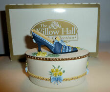 Ceramic Shoe Figurine Willow Hall Collection Colette Multicolored