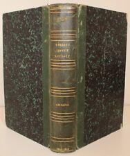 Rare réunion de 3 textes sur le Choléra 19e s. Ambroise Tardieu Lepetit Rousset