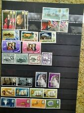 Mint Nh Britain Stamps Ascension Guyana Jersey Antigua Barbados Churchill