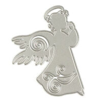 Angel Cutting Dies Metal Stencil DIY Scrapbook Album Paper Card Embossing Z4D