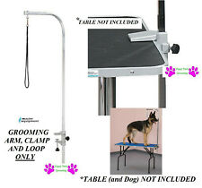"Master Equipment Heavy Duty Groomer PET DOG 48""Grooming ARM,Clamp&Loop for Table"