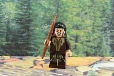 Lego Mini Figure Hobbit Bard the Bowman 2-Sided Head Lord of the Rings 79016
