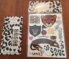 Kate Spade Haloween temporary Tattoos & Nail Decals NEW