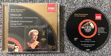 R.Strauss - 4 Last Songs etc.- Schwarzkopf - EMI Classics CD - 7243 5 66908 2 0
