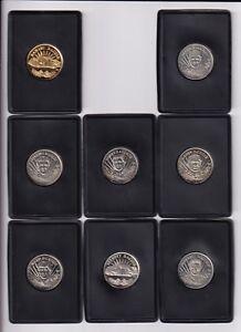 ^1997 Pinnacle NICKLE-SILVER COIN #16 Geoff Bodine BV$3!! SUPER SCARCE!