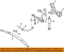 GM OEM Front Suspension-Hub & Bearing 88967287