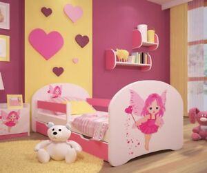 Toddler Bed Children Bed Kids Bed +FREE  MATTRESS+ FREE DRAWER !!! 160x80 140x70