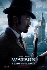 SHERLOCK HOLMES: A GAME OF SHADOWS ORIGINAL 27x40 MOVIE POSTER (2011) LAW