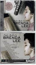 """BRENDA LEE """"Fools Rush In"""" (CD) 2013 NEUF"""