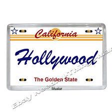 Souvenir magnete foto-Hollywood California-foto-magnetico 5mm dickes Acrilico