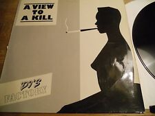 """DJS FACTORY A VIEW TO A KILL 1985 W.GERMAN 12"""" MAXI SINGLE 2 TRACK RUSH RECORDS*"""