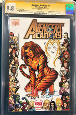 AMANDA CONNER ORIGINAL Sketch Art CGC 9.8 AVENGERS ACADEMY Signed NOT CBCS