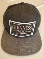 New Guinness Stout Beer 1759 Dublin Ireland Black Embroidered Baseball Cap Hat