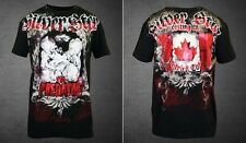 Silver Star UFC 113 Patrick Cote Walkout T-shirt (Black) - Large Size