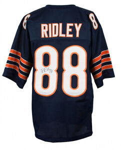 Riley Ridley Signed Chicago Bears Jersey (JSA COA) 2019 4th Rd Pick / Georgia WR