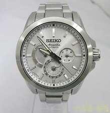 Seiko Brightz SAEC009 Stainless Steel Ananta Automatic Mens Watch Auth Works
