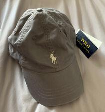 BNWT Polo Ralph Lauren Classic Sport Cap - One Size - Grey