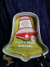 Wilton Cake Pans Bell 502-2057 Christmas Anniversary Baking Mold 1971
