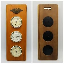 New listing Springfield Eagle Hanging Outdoor Thermometer, Barometer, Humidity Gauge