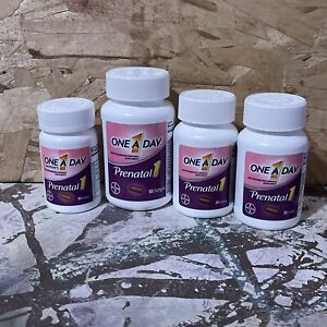 4 pack One A Day Prenatal 1 total 150 softgels= exp 09/21 (364)