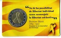 Novetat set prova moneda 2 euros LLaç Groc Catalunya 2018 Catalonia Cataluña