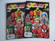 2 Copies-Marvel Comics Exiles  00004000 #12 Rare Key Early Deadpool Carnage Nm Free ship