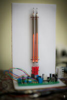 DIY KIT NIXIE TUBE STEREO VU METER SGVU151 (NO TUBES)