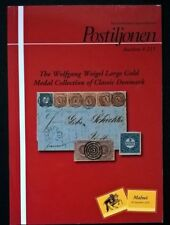 Auction catalogue Wolfgang Weigel Classic DENMARK Stamps Covers Postal History