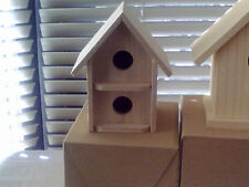 BIRD / MOUSE / GERBIL / HAMSTER BOX (WOODEN), NEW and BOXED