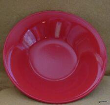 """True Red Ceramic Soup Bowl Chateau 8"""" Diameter"""