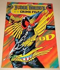 2000ad JUDGE DREDD CRIME FILE Volume 4 Graphic Novel 1989  VFN