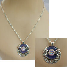 Necklace Moon Phases Pendant Jewelry Handmade Chain Women Fashion Celestial New
