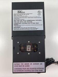 TDC Power Low Voltage Gardenlight Transformer DA-300-12W4-1