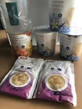 Lighter Life Products All In Date. Porridge Pancakes Chicken Noodle Pot