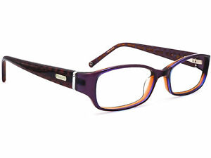Coach Women's Eyeglasses NUALA/ 019 PLUM Plum Rectangular Frame 50[]16 135