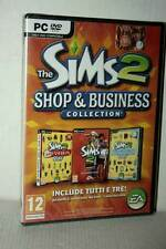 THE SIMS 2 SHOP & BUSINESS COLLECTION SET 3 ESP PC DVD VER ITALIANA VBC 28353