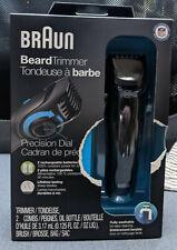 Braun Cordless Beard Trimmer 25 Length Settings BT5050 Washable NIB