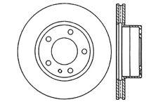 FRONT BRAKENETIC SPORT DRILLED Brake Disc Rotors POSI QUIET Pads BSK80063