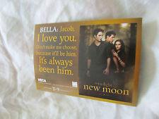Twilight New Moon Neca Trading Card T-9 Robert Pattinson , Kristen Stewart