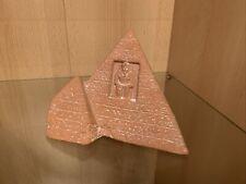 Pyramide aus Ton Deko Dekoration Ägypten Pharao